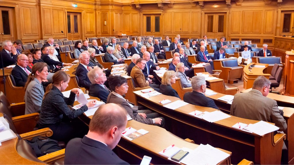 Mitgliederversammlung im Rathaus der Freien Hansestadt Hamburg 2016