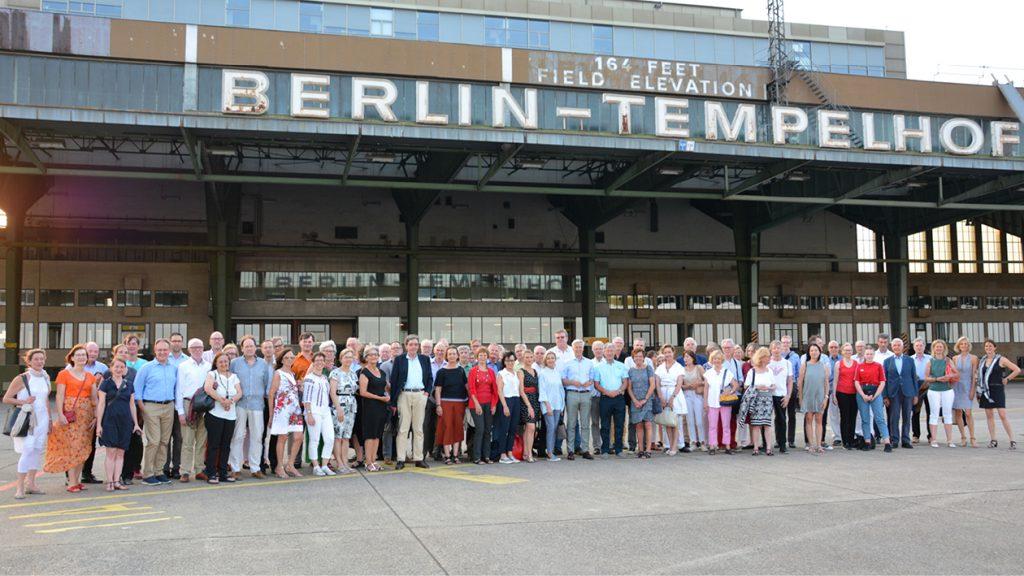 Die Baden-Württemberger in Berlin zu Besuch im Flughafen Tempelhof im Juni 2019