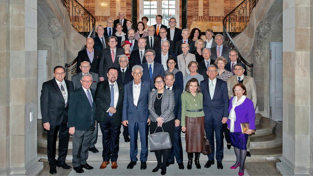 Empfang der CCD-Mitglieder im Neuen Schloss Stuttgart (2019)