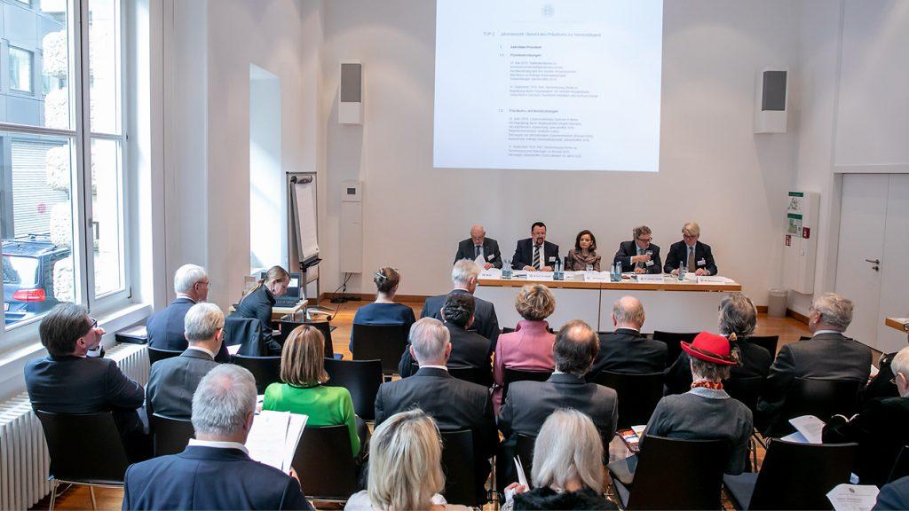 Mitgliederversammlung des CCD im Haus der Wirtschaft Stuttgart (2019)