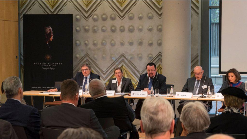 23. Mitgliederversammlung in der Südafrikanischen Botschaft in Berlin-Tiergarten